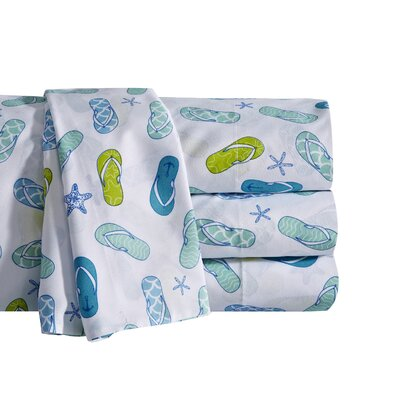 Flip Flop Sheet Set Size: California King