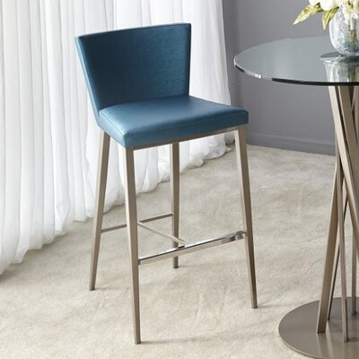 Soho 26 inch Bar Stool Upholstery: Lead