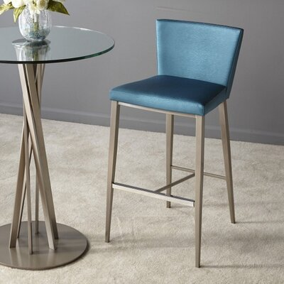 Soho 30 Bar Stool Upholstery: Teal