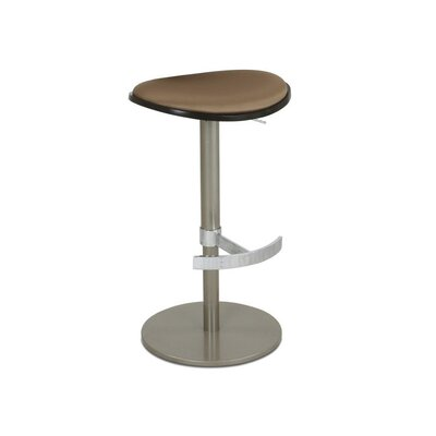 Vera Adjustable Height Bar Stool Upholstery: Star