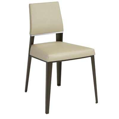 Vivian Bistro Side Chair Upholstery: Portabello