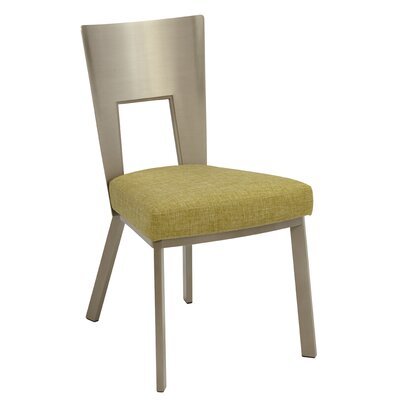Regal Bistro Genuine Upholstered Dining Chair Upholstery: Bamboo