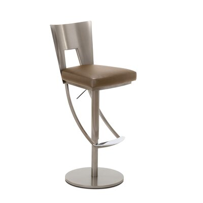 Regal Adjustable Swivel Bar Stool Upholstery: Portabello