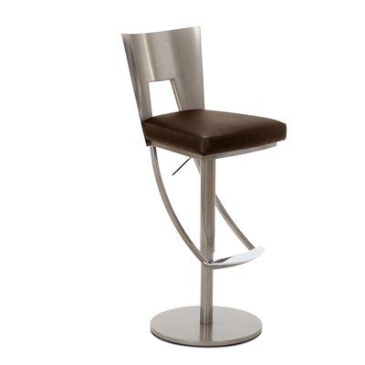 Regal Adjustable Swivel Bar Stool Upholstery: Branch