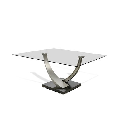 Tangent Dining Table Size: 29.5 H x 60 W x 60 D