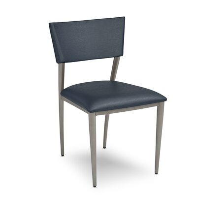 Bella Upholstered Dining Chair Upholstery: Indigo