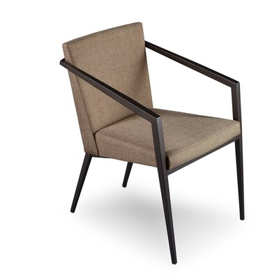 Soho Upholstered Dining Chair Upholstery: Fox