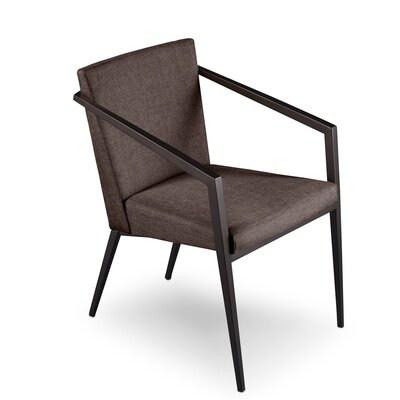 Soho Upholstered Dining Chair Upholstery: Bark