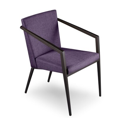 Soho Upholstered Dining Chair Upholstery: Orchid