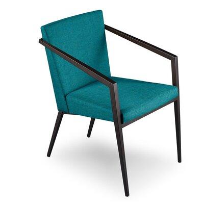 Soho Upholstered Dining Chair Upholstery: Peacock