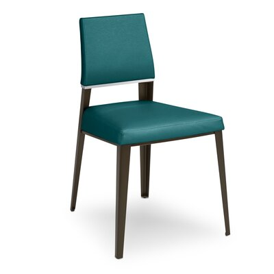 Vivian Bistro Upholstered Dining Chair Upholstery Color: Teal