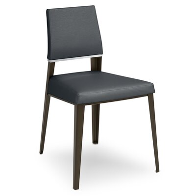 Vivian Upholstered Dining Chair Upholstery Color: Inidgo
