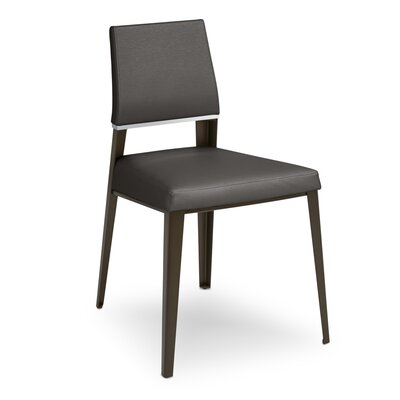 Vivian Upholstered Dining Chair Upholstery Color: Lead