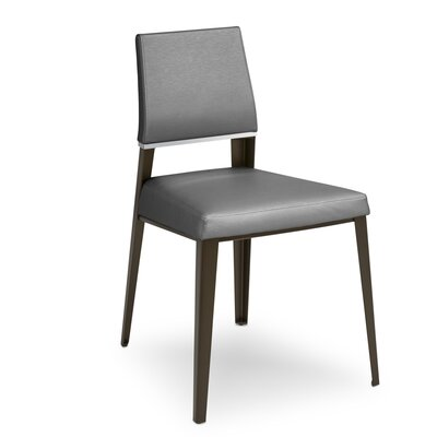 Vivian Bistro Upholstered Dining Chair Upholstery Color: Granite