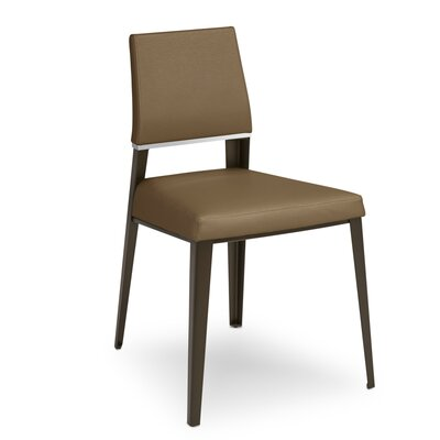 Vivian Upholstered Dining Chair Upholstery Color: Portabello
