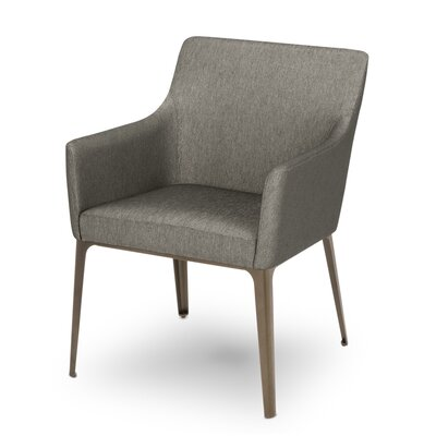 Dunbar Upholstered Dining Chair Upholstery Color: Marcasite
