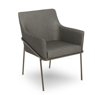 Blake Upholstered Dining Chair Upholstery Color: Marcasite