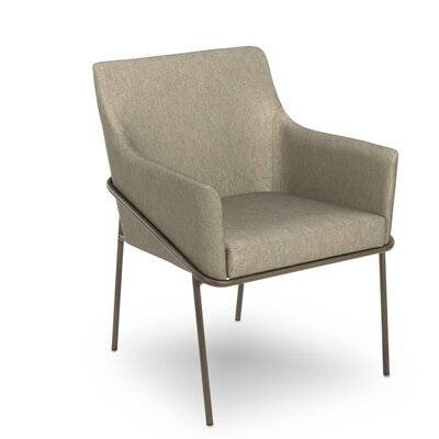 Blake Upholstered Dining Chair Upholstery Color: Zinc