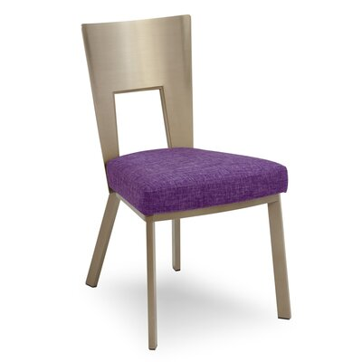Regal Bistro Genuine Upholstered Dining Chair Upholstery: Orchid