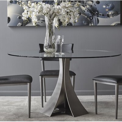 Primo Dining Table Size: 29.5 H x 54 W x 54 D