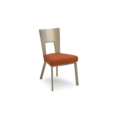 Regal Bistro Genuine Upholstered Dining Chair Upholstery: Paprika