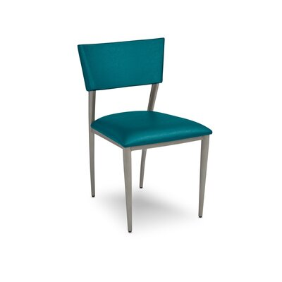 Bella Upholstered Dining Chair Upholstery: Teal