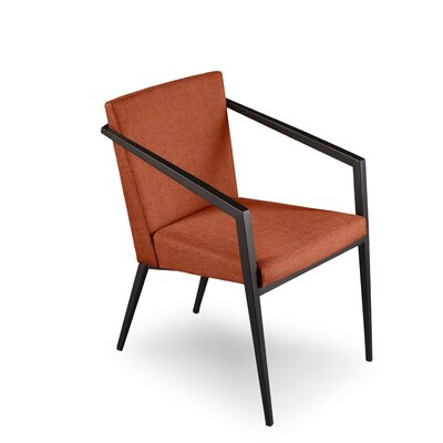 Soho Upholstered Dining Chair Upholstery: Paprika