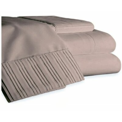 Gulliver 6 Piece Polyester/Rayon from Bamboo Sheet Set Size: Full, Color: Taupe