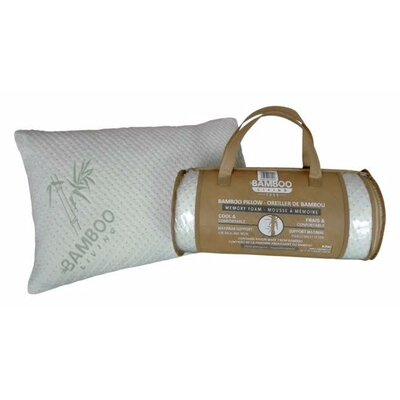 Rayon from Bamboo Lumbar Pillow Size: King