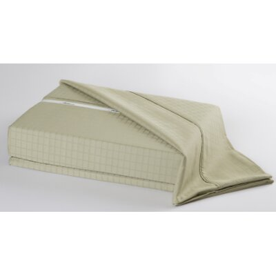 Ellie 300 Thread Count Sheet Set Size: Full, Color: Sage Green