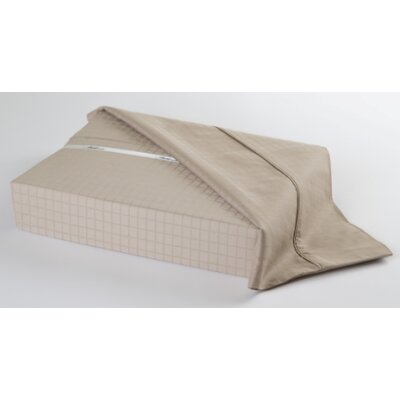 Ellie 300 Thread Count Sheet Set Size: Queen, Color: Taupe