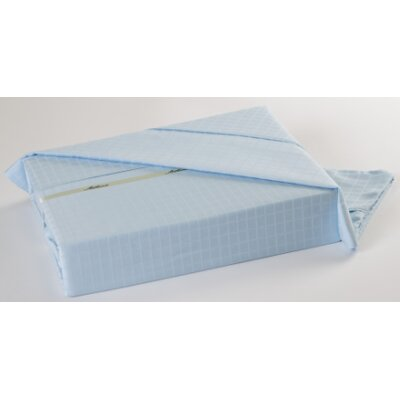 Ellie 300 Thread Count Sheet Set Size: Twin, Color: Ice Blue