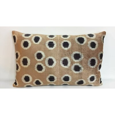 Dot Velvet Lumbar Pillow