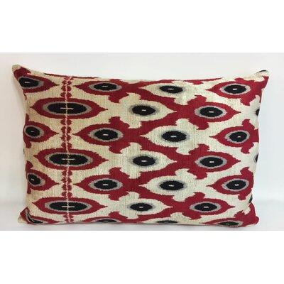 Flordeli Velvet Lumbar Pillow