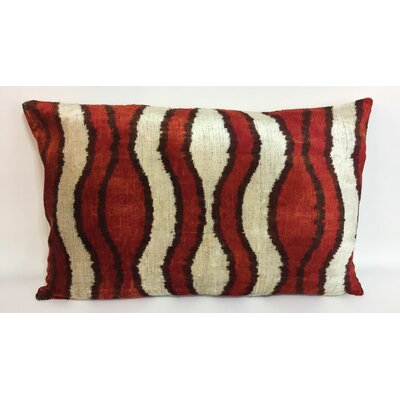Wave Velvet Lumbar Pillow