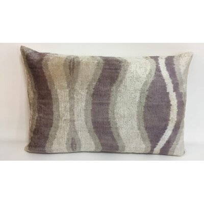 Wave Velvet Lumbar Pillow