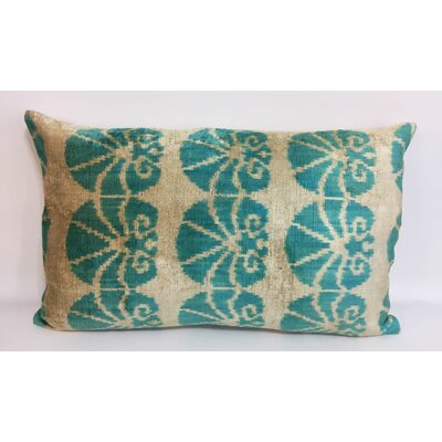 Lotus Velvet Lumbar Pillow