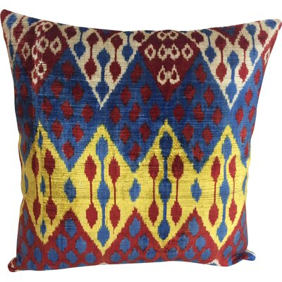 Diamond Velvet Throw Pillow