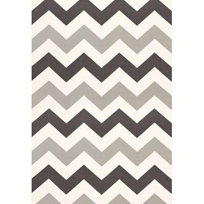 Modern Print High Voltage Fabric Upholstery: Smoke
