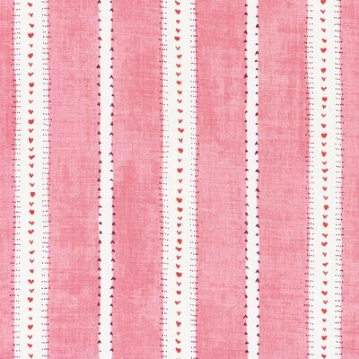 French Revolution Amour Fabric Upholstery: Rasberry