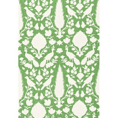 Exuberant Prints Chenonceau Fabric Upholstery: Aloe