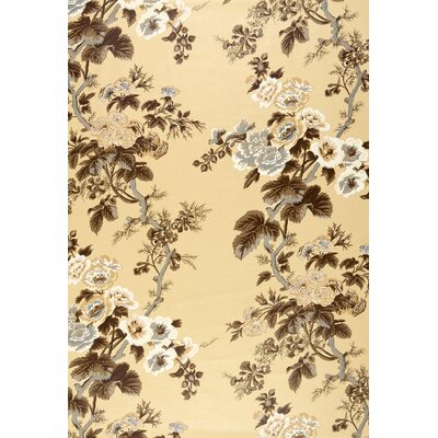 Pyne Hollyhock Fabric Upholstery: Tobacco