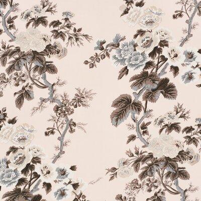 Pyne Hollyhock Fabric Upholstery: Blush