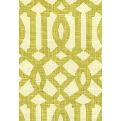 Imperial Trellis Fabric Upholstery: Citrine/Ivory
