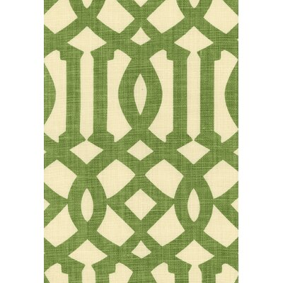 Imperial Trellis Fabric Upholstery: Treillage/Ivory