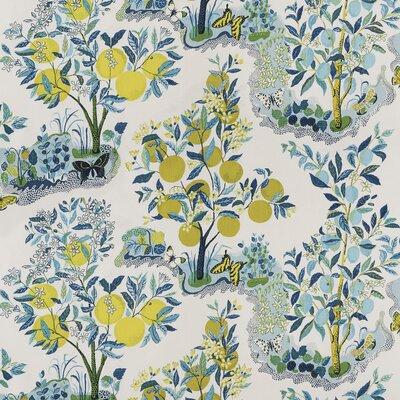 Good Vibration Citrus Garden Fabric Upholstery: Primary
