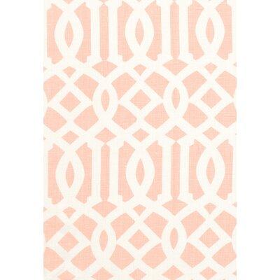 Modern Prints Imperial Trellis II Fabric Upholstery: Blush