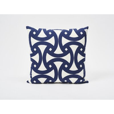 Santorini Print Outdoor Throw Pillow