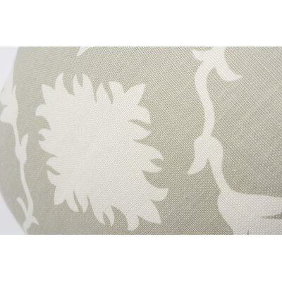 Garden of Persia Linen Throw Pillow
