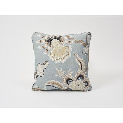 Hothouse Flowers Linen Throw Pillow